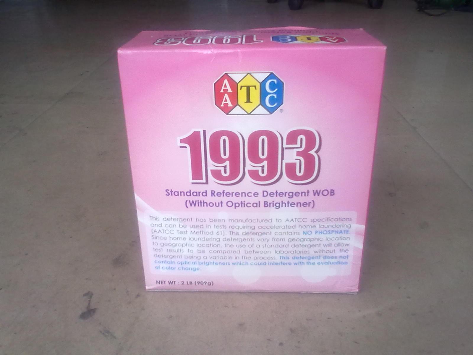 AATCC1993WOB标准洗涤剂AATCC水洗牢度测试专用洗涤剂