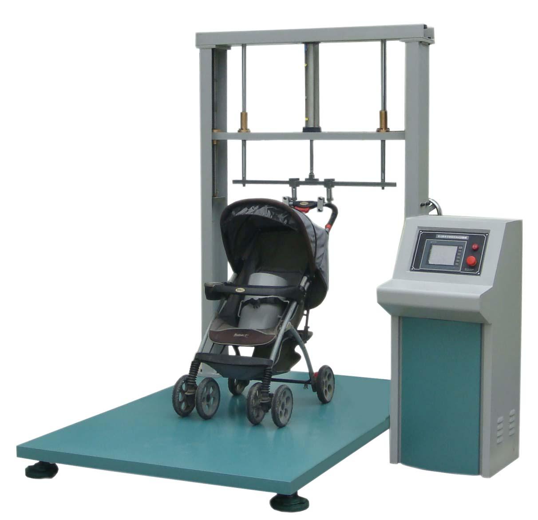 婴儿手推车举起下压耐用试验机,手把强度测试机