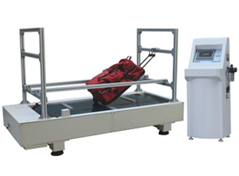 QI-X01箱包行走颠簸磨耗试验机,皮箱里程试验机