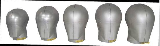 全盔镁头型(A,E,J,M,O)ISO/DIS 6220,EN 960